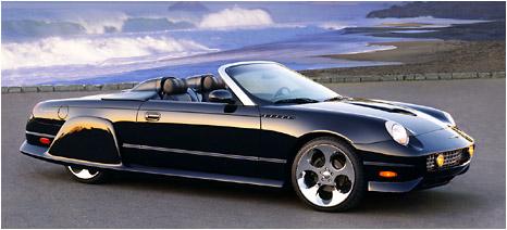 2002 custom thunderbird show cars. Black Bedroom Furniture Sets. Home Design Ideas