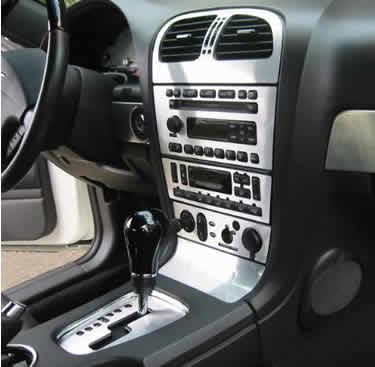 Brushed Aluminum Dash Amp Interior Trim Package
