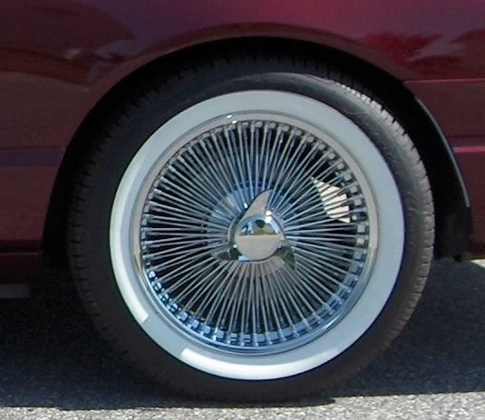 American Tire Store >> Wide White Wall Tires for 2002-2005 Ford Thunderbird!