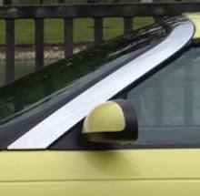 2002-2005 Ford Thunderbird Upper Windshield Reveal Molding Chrome OEM NEW