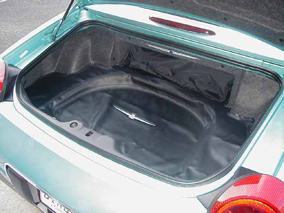 Ford Replacement Parts >> Thunderbird OEM Trunk Liner